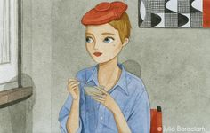 IN THE MOVIES - Julia Bereciartu Illustration