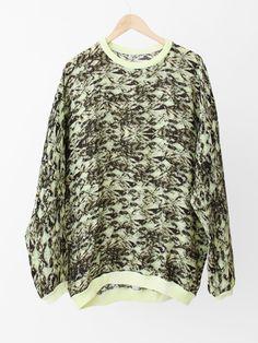 ANNTIAN Silk Sweater - Efeutute Print « Pour Porter