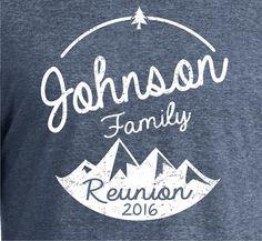 Bulk Discount Family Reunion Shirt Custom DesignReunion by BluYeti