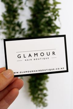 Update the look of your business cards with these trendy and girly update the look of your business cards with these trendy and girly faux glitter cards perfect for makeup artists hair stylists nail technicians reheart Gallery