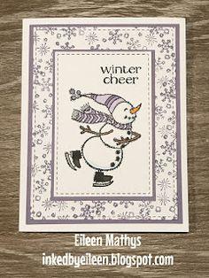 Inked by Eileen: Spirited Snowman