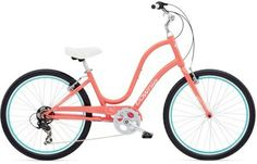 This is my cute bike! (Without the cutie fenders) - Electra Townie 7D Step-Through Women\'s Bike - 2014