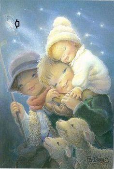 Genuine Love, Our Savior, Christmas Holidays, Cute Pictures, Illustration, Mothers, Album, Inspiration, Color