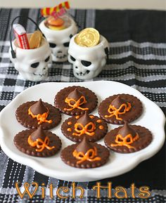 Easy To Do Witch Hats For Your Children's Halloween Party - The Peach Kitchen