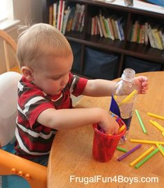 10+ Activities for Busy Toddlers @ frugal fun 4 boys