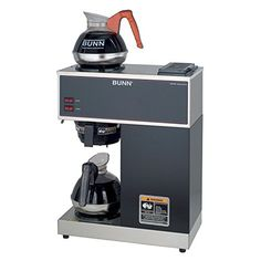 BUNN VPR2EP 12Cup Pourover Commercial Coffee Brewer Plus 2 Easy Pour Commercial Decanters *** You can find out more details at the link of the image.Note:It is affiliate link to Amazon.
