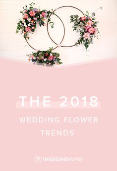The 2018 Wedding Flower Trends - 2018 wedding flower trends are all about a return to boldness and vibrancy. See our favorite floral trends on WeddingWire! {Hyde Park Photography}