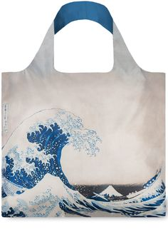 LOQI – Reusable Bag – Museum Collection – Hokusay - The Great wave