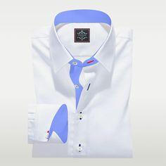 Bespoke Shirts, Custom Made Shirts, Plain White Shirt, White Shirts, Men's Shirts, Dress Shirts, Formal Shirts, Casual Shirts, Pique Shirt