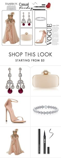 """Outfit # 5372"" by miriam83 ❤ liked on Polyvore featuring Oscar de la Renta and Stuart Weitzman"