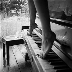 Very cool!   Because dancing on a piano... is something I do in my other life!  J <3