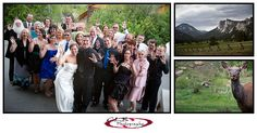 {Colorado Wedding Photographer} + Grace and Jeremy's Wedding in Estes Park, Mary's Lake Lodge - CLB Photography