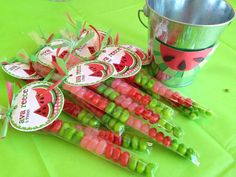 Watermelon Birthday Party Ideas   Photo 3 of 9   Catch My Party