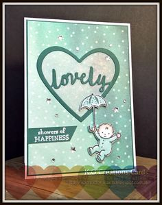 KOCreations Stampin' Up! Blog: Kylie Bertucci's International Highlights Top 10 Winners Blog Hop - Baby - Showers of Happiness