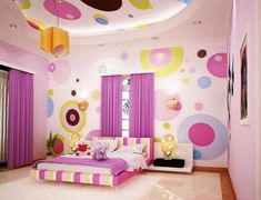 33 Decorating Ideas for Girls Bedrooms in Purple (7)