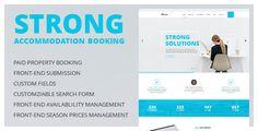 Accommodation Booking Wordpress Theme.
