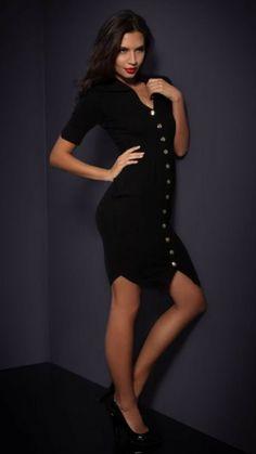 Agent Provocateur Julieanne Cashmer Dress With Silk Details, Inner Belt, Size S  · $345.00 Uniform Dress, Black Silk Dress, Agent Provocateur, Size 14 Dresses, Nightwear, Dress Skirt, Erotic, High Neck Dress, Lingerie