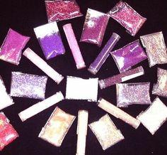 Matsuno glass seed beads/ Purples