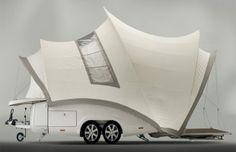 Camp beyond the Opera! オペラハウスをそのまま愛車に乗せて旅に出かけられる「Opera」