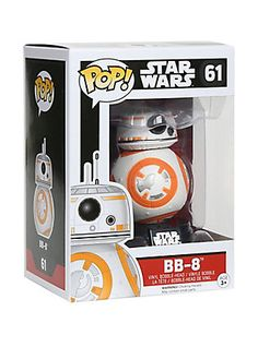 Funko Star Wars: The Force Awakens Pop! BB-8 Vinyl Bobble-Head,