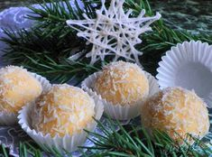 náplň Christmas Baking, Christmas Cookies, Looks Yummy, Recipe Box, Truffles, Rum, Projects To Try, Food And Drink, Homemade