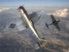 Republic Thunderbolt LM: C, named Miss Fire and Rozzie Geth II was the personal aircraft of Fred Joseph Christensen Jr. Ww2 Aircraft, Military Aircraft, Air Fighter, Fighter Jets, P 47 Thunderbolt, Focke Wulf, The Spitfires, Airplane Design, War Thunder