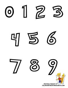You Can Print Out This #Pokemon #Numbers #ColoringPage Now... http://www.yescoloring.com/images/Preschool_Alphabet_Coloring_num_chart_coloringkidsboyscom.gif