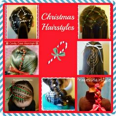Christmas hairstyle ideas and tutorials