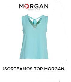 ¡Consigue este top Morgan!