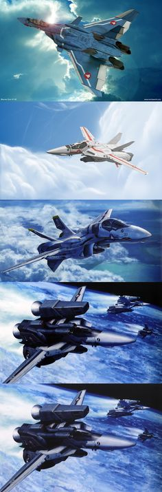 Variable Fighter in MACROSS