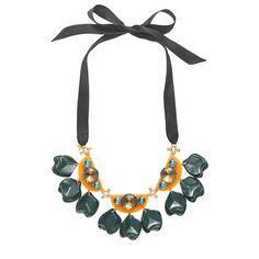 J.Crew - Floating petals necklace