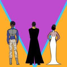 Wakanda Royalty || T'challa, Erik Killmonger & Shuri || Black Panther || Cr: skaky21
