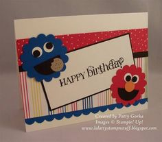Animal Birthday by LaLatty - Cards and Paper Crafts at Splitcoaststampers