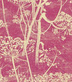 Petal Pusher Wallpaper, White/Blue - modern - wallpaper - Hygge & West
