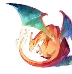 Charizard.  Hands down one of the best pokemon ever created.  LOVE charizard.