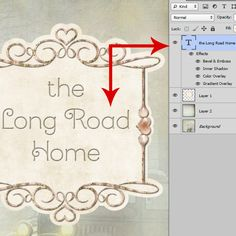 Photoshop Layer Style Tip #Photoshop #SnickerdoodleDesigns #tutorial