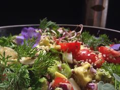 Quinoa hennepsalade