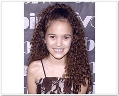 little girl tight curly hairstyles