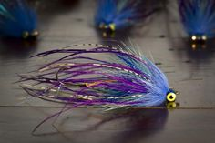 Lots of different materials go into this weighted Trailer Trash spey fly - Spey Pages