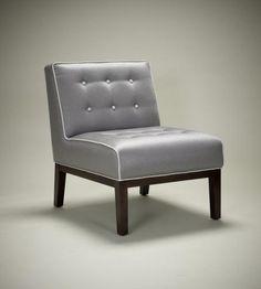 Robert Langford's new Maxim slipper chair
