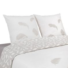 Parure de couette en coton (plusieurs tailles disponibles) - Plume - Les parures de couette - Le linge de lit - Chambre - Décoration d'intérieur - Alinéa