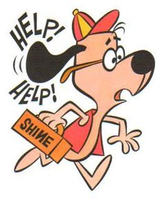 """Mild-mannered Shoeshine Boy transformed into Underdog, every time he heard Sweet Polly Purebred's cries for """"Help! Classic Cartoon Characters, Classic Cartoons, Nostalgia, Vintage Cartoons, Old School Cartoons, Looney Tunes Cartoons, Famous Cartoons, Saturday Morning Cartoons, Cartoon Shows"""