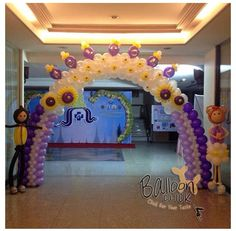 Doll balloon arch #doll #balloon #arch #decor #decoration #doll  #balloon #sculpture #twist #art #character