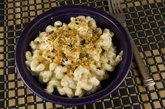 """Tofu Mac & Cheese (""""tastes almost identical to the real version and is actually much easier to make"""")."""