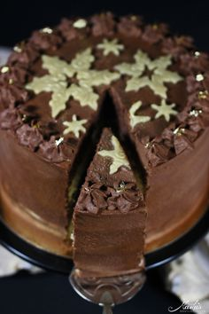 Delicious Cake Recipes, Yummy Cakes, Chef Recipes, Cooking Recipes, Winter Torte, Marzipan Torte, Cake & Co, Malu, Doughnuts