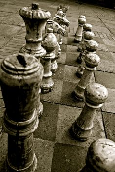 I like playing chess...