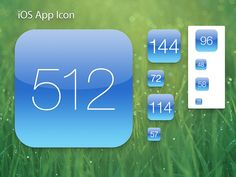 App icons for the new iPad measure 512×512 pixels. The original Macintosh had an entire screen resolution of 512×342 pixels.