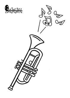 139 Images De Dessins Coloriages Dinstruments De Musique Parmi Les