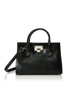 Jimmy Choo Borsa A Mano Riley  [Nero]
