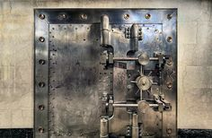 Old Bank Vault in the Basement of the Historic US Bank Portland Oregon - HDR by David Gn Photography, via Flickr